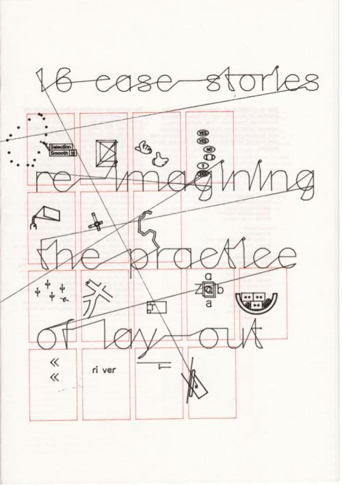16 Case stories, re-imagining the practice of layout